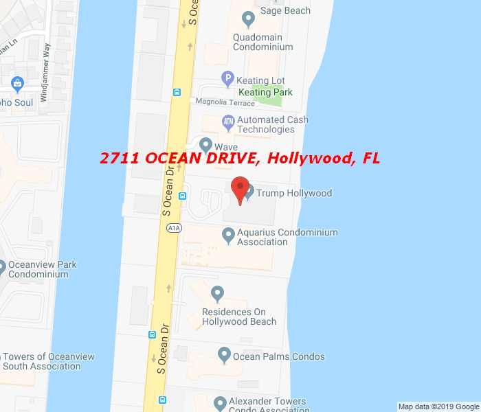 2711 OCEAN DR #1902, Hollywood, Florida, 33024