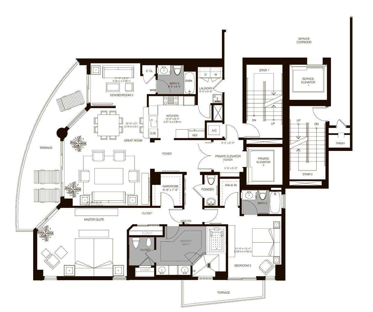 Residences 01 - 06, Level 5-33